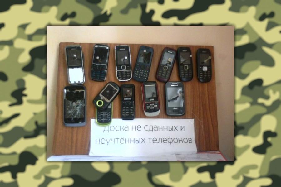 Телефоны в армии