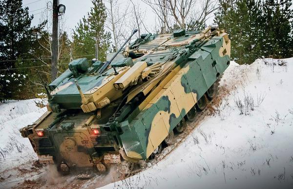 Курганец-25 на ходу