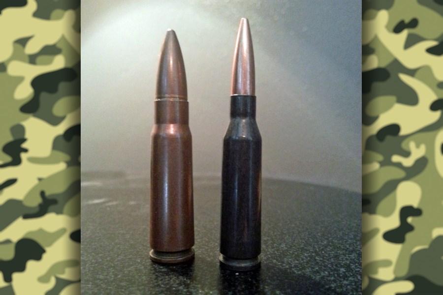 Патроны 5,45 и 7,62 мм